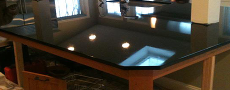 home-black-counter Granite Countertops Fabrication and Installation - Universal Stone in MA and NH
